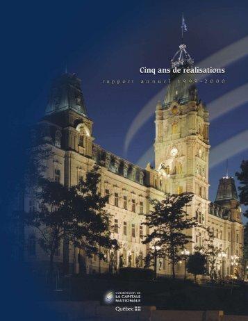 Rapport annuel 1999-2000 - Commission de la capitale nationale ...