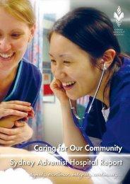 2010 Corporate Brochure - Sydney Adventist Hospital