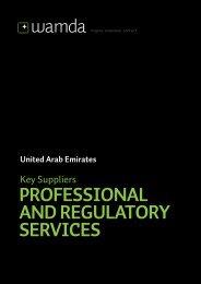 PROFESSIONAL AND REGULATORY SERVICES - Wamda.com