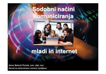 Mladi in elektronski mediji 21_5_2010.pdf - Zavod za zdravstveno ...