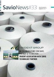 in collaborazione con savio, partner di tecnologia ... - Savio SPA