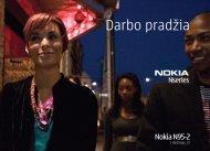 Darbo pradžia - Nokia