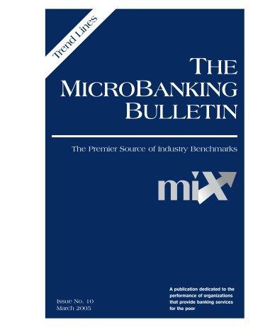 Downloading - Microfinance Information Exchange