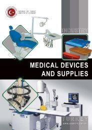 Medical Devices and Supplies - Turkey Contact Point