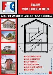 Traum vom eigenen Heim - Landkreis Freyung-Grafenau