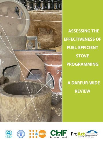 Assessing the Effectiveness of Fuel-Efficient Stove ... - UNEP