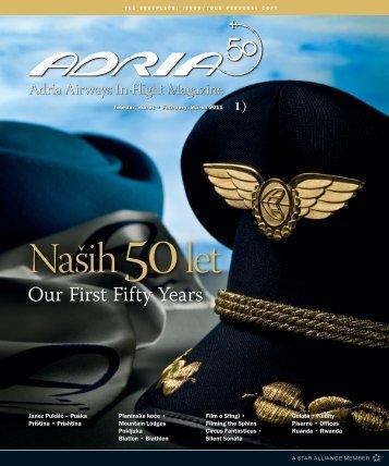 Februar, marec 2011 - Adria Airways