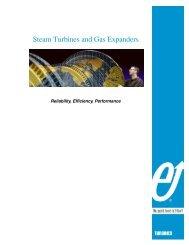 Steam Turbines and Gas Expanders - Elliott Turbomachinery