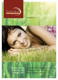 LIVING WELLNESS - Garberhof