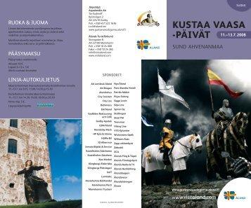KUSTAA VAASA -PÄIVÄT