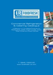 Commercial Refrigeration & Catering Catalogue - FoodFresh - Uk