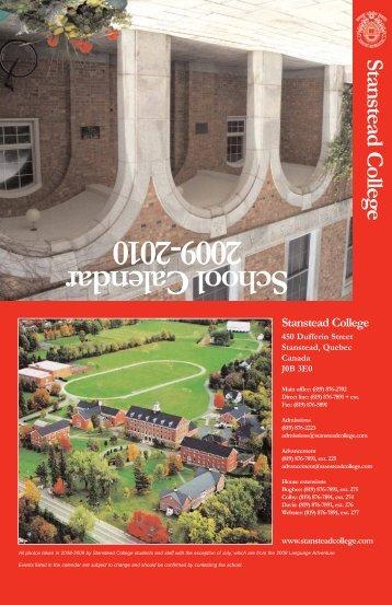 30 31 - Stanstead College