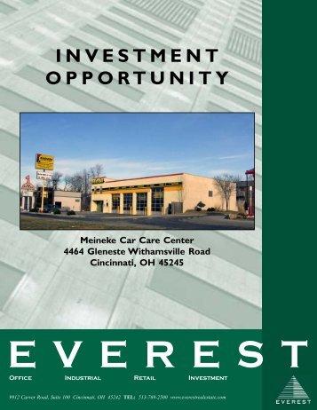 Meineke Muffler Eastgate - Investment.P65 - Everest Real Estate