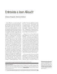 Entrevista a Jean Allouch* - Universidad de San Buenaventura Cali