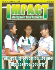 June 2008 - IMPACT Magazine Online!