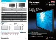 Panasonic 42 LCD Brochure - PSCo