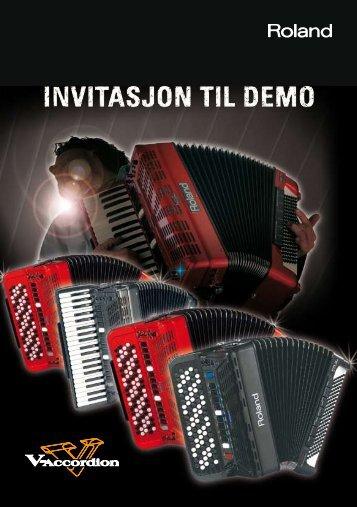 Invitasjon til Roland-demo - trekkspill.no