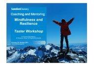 M&R-Taster Workshop- London-handout - Mentoring