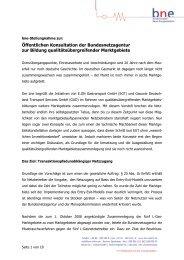 Stellungnahme Marktgebiete BNE (pdf/277 KB ) - Bundesnetzagentur