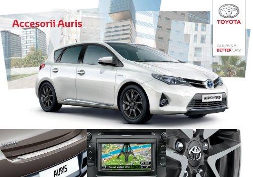 Accesorii Auris - Toyota