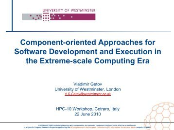 Component-oriented Approaches for Software Development and ...