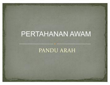 Pandu Arah - Politeknik Kota Bharu