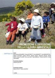 promozione e diffusione della cultura ambientale - Annuario dei dati ...