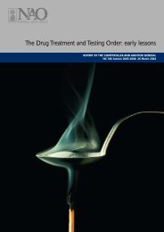 The Drug Treatment and Testing Order: early lessons - Scottish ...