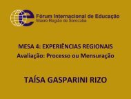 Prefeitura da Estância Turística de Salto Secretaria da Educação