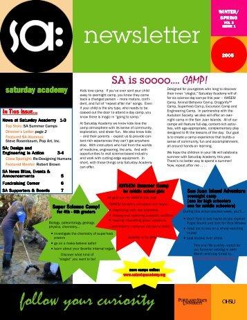 2005 Winter Newsletter.p65 - Saturday Academy