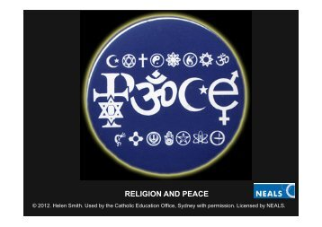 RELIGION AND PEACE - Catholic Education Office Sydney