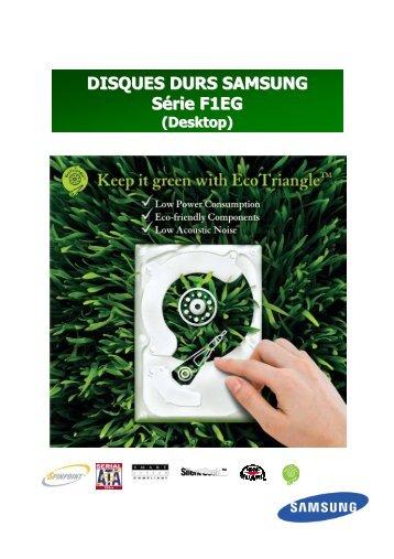 SAMSUNG DISQUES DURS 3.5'' Série F1EG HD103UI