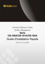 Guide d'Installation Rapide - Réseau Direct