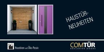 ComTuer Haustür Neuheiten (pdf, 2949 kb) - Torda Türen