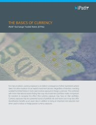 Basics of Currency - iPath ETNs