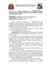 1 ata da 11ª sessão ordinária do tribunal pleno, realizada em 27 de ...