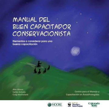 Manual del Buen Capacitador conservacionista - Sernanp