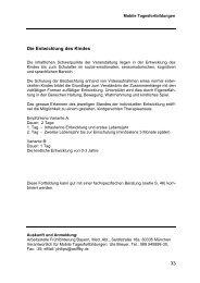 Mobile Tagesfortbildung 1-2013 - Arbeitsstelle Frühförderung Bayern