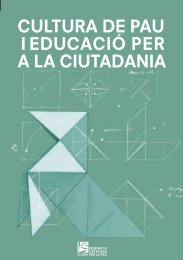 CULTURA DE PAU I EDUCACIÓ PER A LA CIUTADANIA - Xarxanet