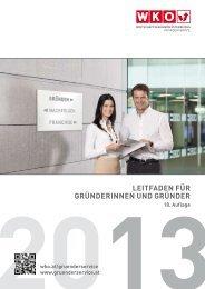 Leitfaden für Gründerinnen und Gründer - Wirtschaftskammer ...