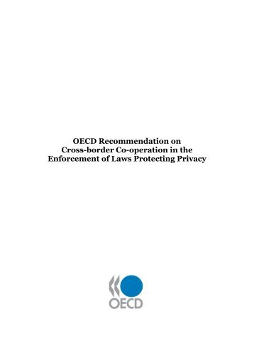 OECD Recommendation on Cross-border Co-operation in the ...
