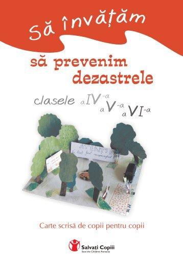 manual prevenire dezastre.cdr - Salvati Copiii