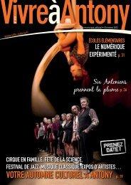 8 AU QUOTIDIEN N°272 - OCTObRE 2012 - Ville d'Antony