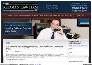 Personal Injury Lawyer Blog