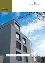 Fritz-Fleiner Weg, Zürich - Walde & Partner Immobilien