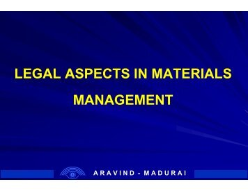 aspects of materials control The impact of effective material management for smes on construction sites   deals with this one aspect of materials management and focuses upon how.