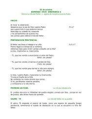 02 de octubre DOMINGO XXVII ORDINARIO A Somos la viña del ...