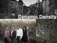 Dynamic Density - Urban Design Challenge