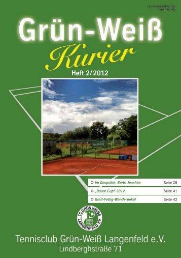 Ausgabe 2/2012 - TC Grün-Weiß Langenfeld eV