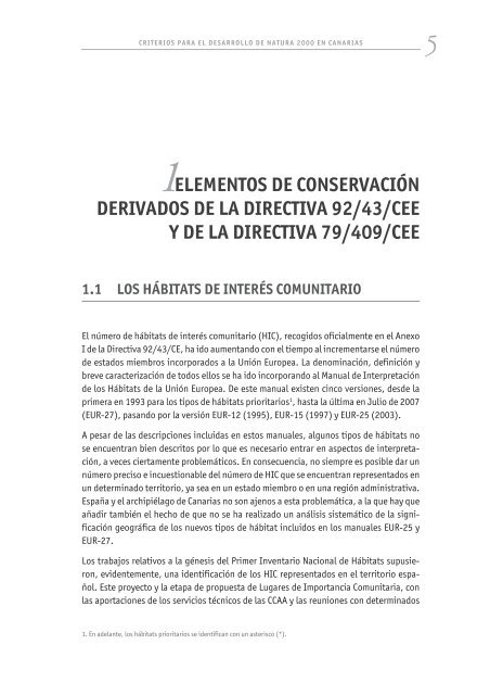 Directrices Ordenación NATURA 2000. Permite ... - Interreg Bionatura